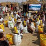 مشروع الدعم الغذائي للاسرالفقيرة (نازحين )