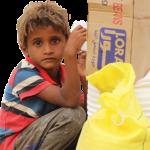 مشروع  دعم الامن الغذائي للاطفال